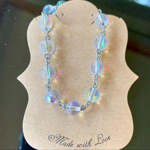 Jewelry - Iridescent Beaded Bracelet - NEW